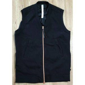 Lululemon Womens Departure Black Vest Jacket 6